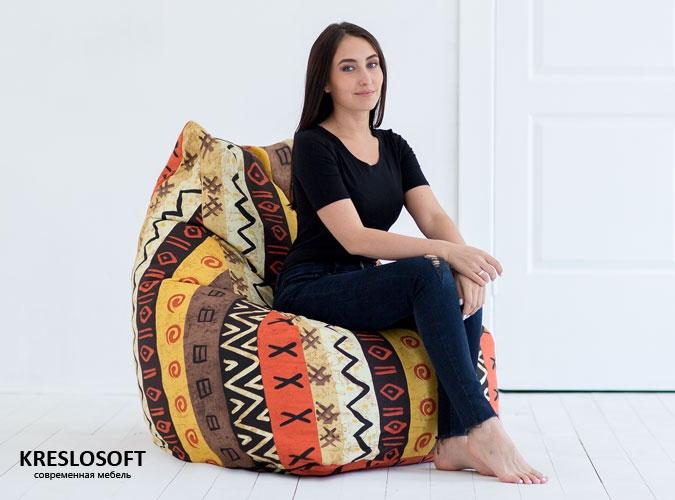 Кресло-мешок Кошка Африка
