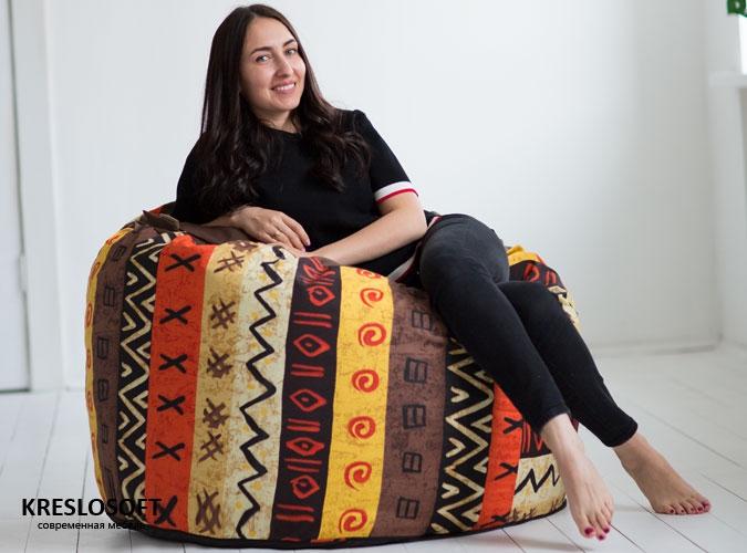Кресло-мешок Пуф Пуф Африка