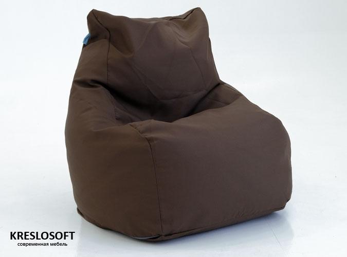 Кресло-мешок Кошка Темно-коричневый
