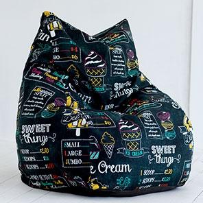 Кресло-мешок Кошка Айскрим