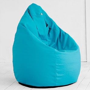 Кресло-мешок Груша Аквамарин