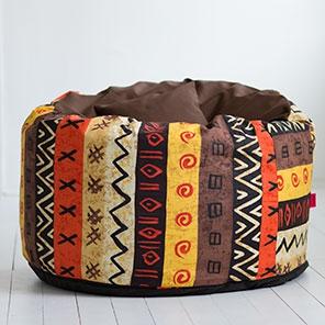 Пуф Пуф Африка с коричневым