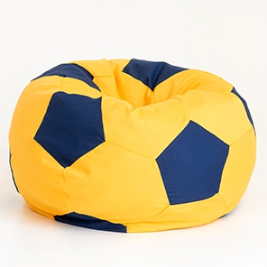 Футбольный мяч Желтый с синим