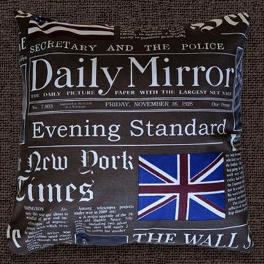 Декоративные подушки Дэйли