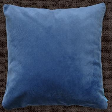 Декоративные подушки Велюр Индиго