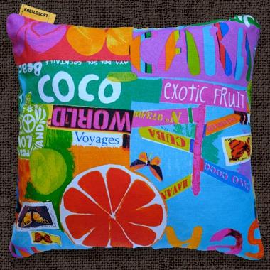 Декоративные подушки Экзотик