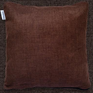 Декоративные подушки Темно-коричневый (шенил)
