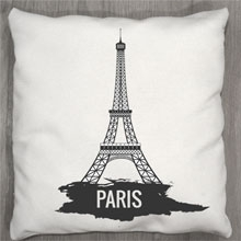 Подушки с принтом Париж