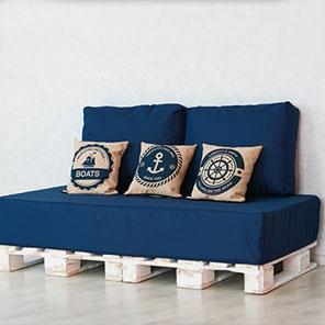 Мебель на паллетах Captain BLUE