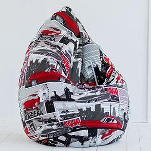 Кресло-мешок Груша Ягуар