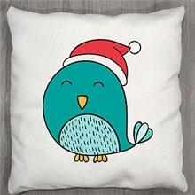 Подушки с принтом Птичка
